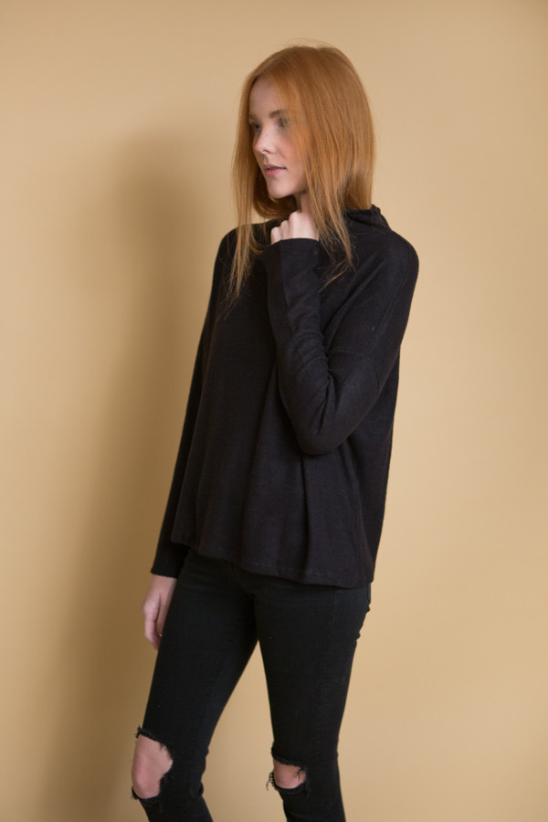 Just Female Lucien Blouse / Black