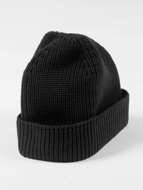 Journal Rise Hood Hat Black