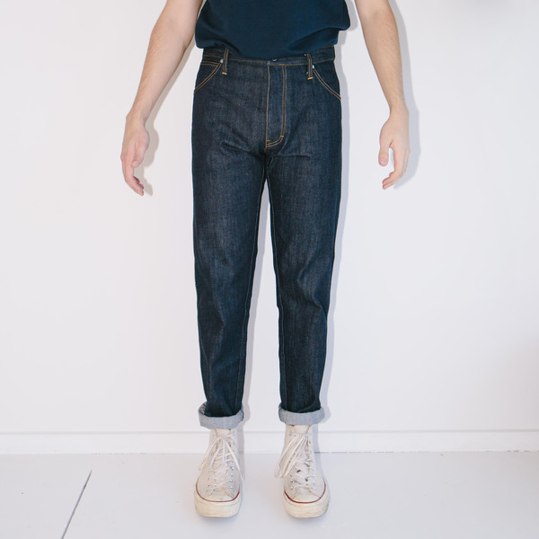 Men's Basic Rights Blue Jeans