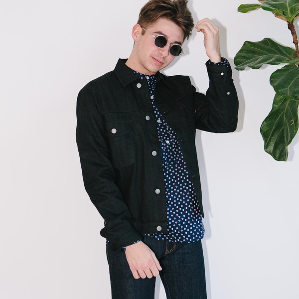 Men's Basic Rights Denim Jacket