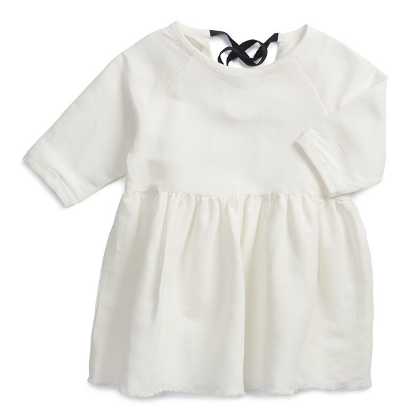 Little Creative Factory Baby Girl Peasant Dress White