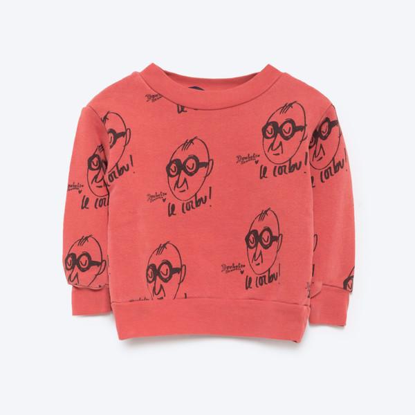 The Animals Observatory Bear Baby Sweatshirt