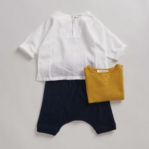 Caramel Baby & Child Boldo Baby Kurta White