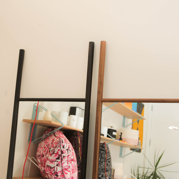 Lonewa Hex Floor Mirror