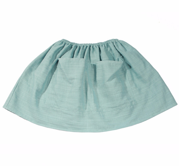 Soor Ploom Emelia Skirt Sea Glass