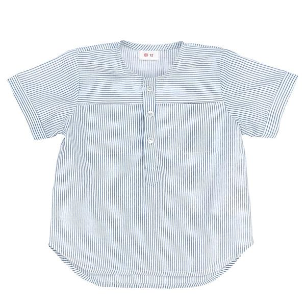 Ketiketa Eole Shirt Blue Stripes