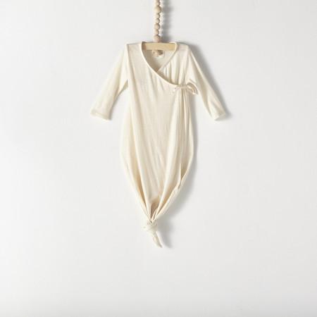 Bacabuche Kimono Baby Gown Natural
