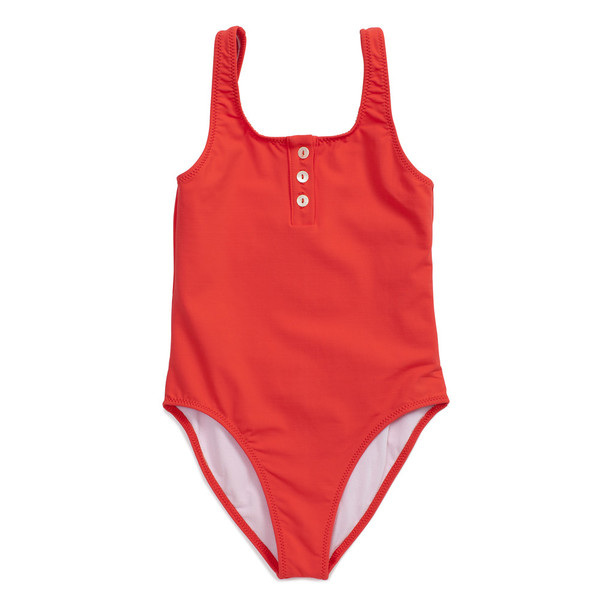 Pacific Rainbow Laura Swimsuit Coquelicot