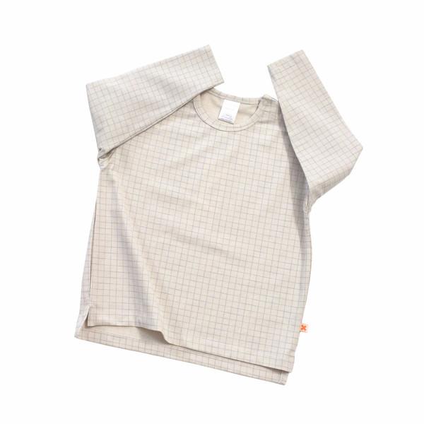 Tiny Cottons Medium Grid Oversized Tee