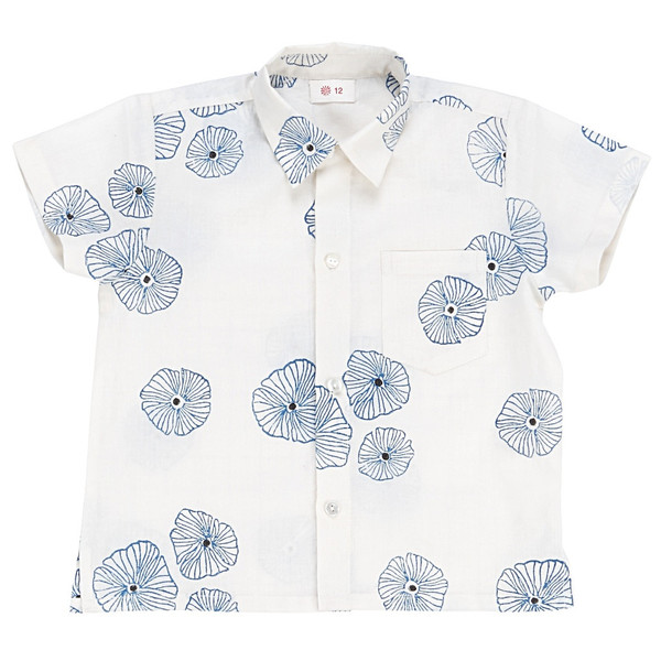 Ketiketa Orso Shirt Blue Poppies