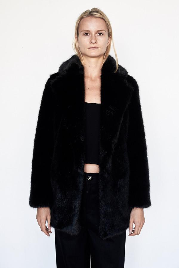 D.EFECT Faux Fur Duana Coat
