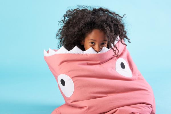Baby Bites Pink Toddler Sleeping Bag - Coucou Boston