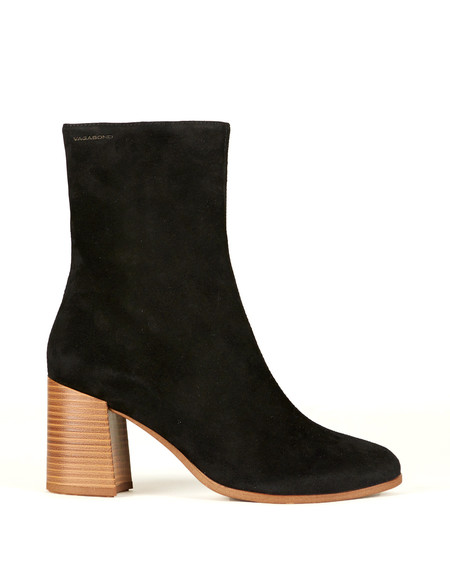 Vagabond Kaley Suede Boot Black