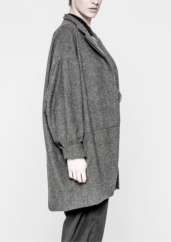 Berenik Coat Reverse Dark Grey