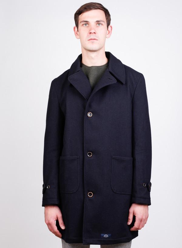 Men's Bleu De Paname P Coat Marine