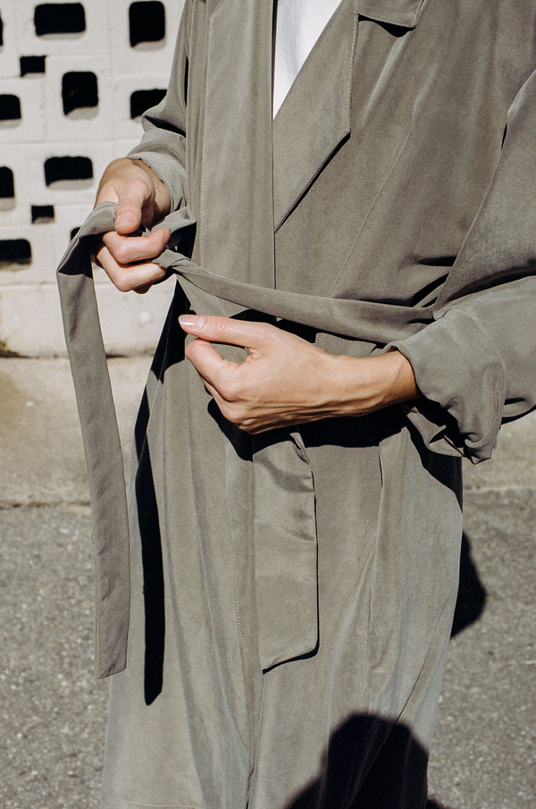 Unknown Jesse Kamm Trench - olive