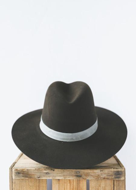 Janessa Leone Lou Hat - Beaver