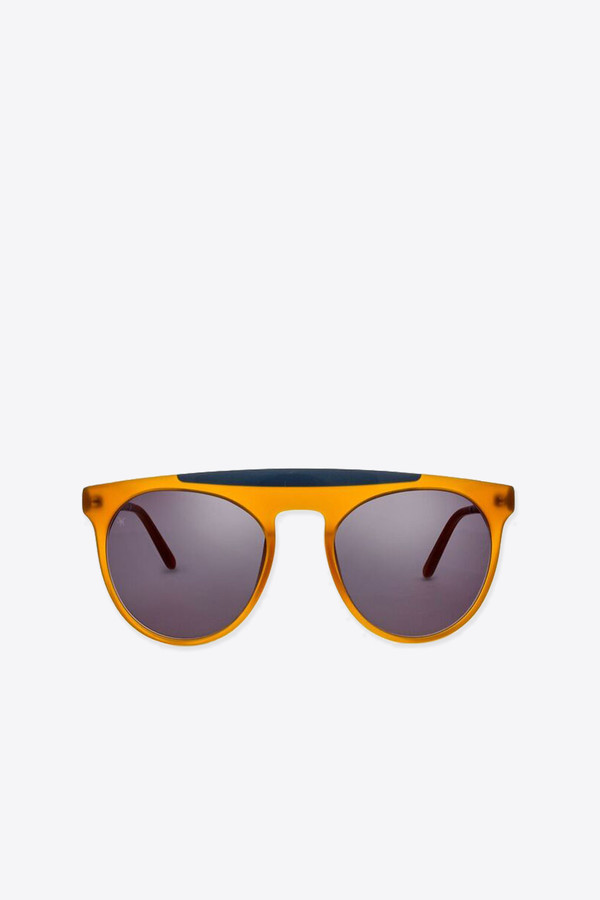 Men's Smoke x Mirrors Atomic sunglasses in honey/milky grey