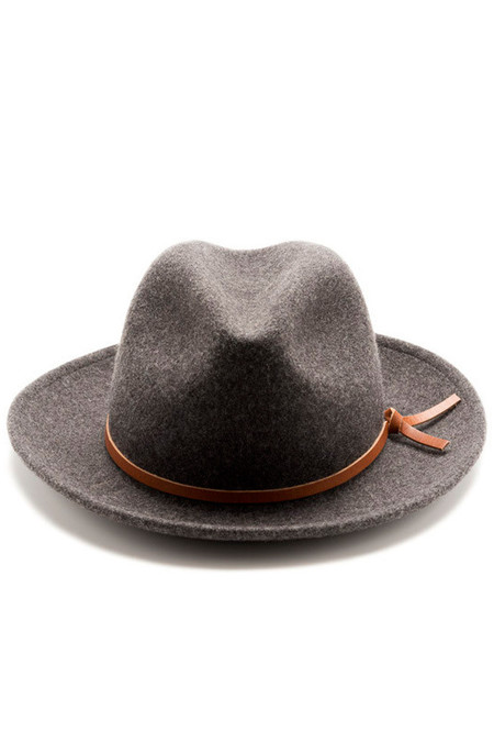 Yellow108 Luke Hat Charcoal Wool