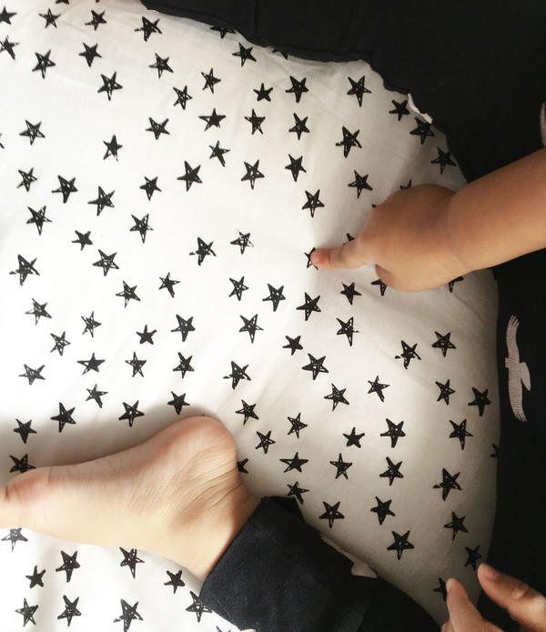 Kid's Wee Gallery ORGANIC COTTON SUNSHINE PLAYMAT