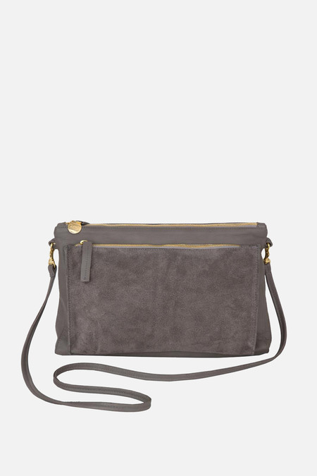 Clare V. Gosee clutch in grey