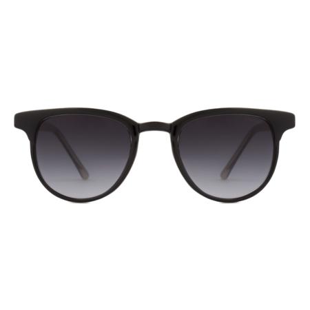 KOMONO - FRANCIS Sunglasses - Black/Ivory