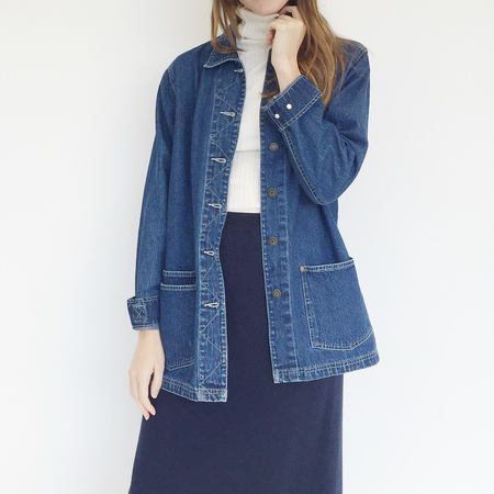 Johan Vintage Denim Work Jacket