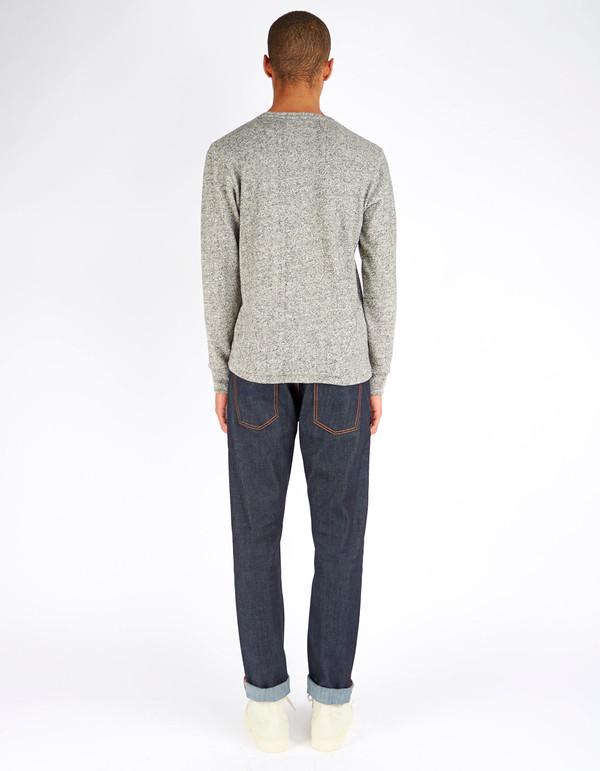 Men's 18 Waits Drifter T-Shirt Melange Sweater Knit