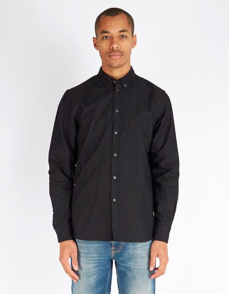 Filippa K Paul Oxford Shirt Black