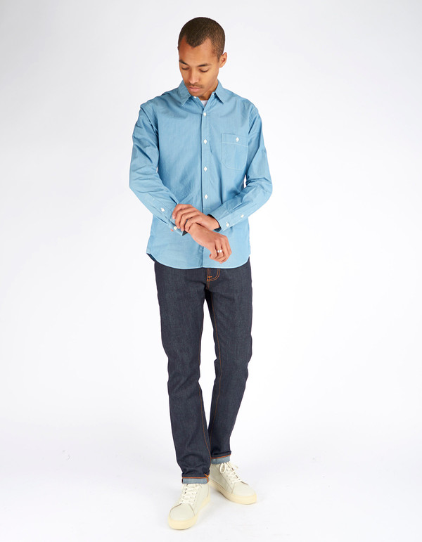 Shuttle notes Engineers Shirt Indigo