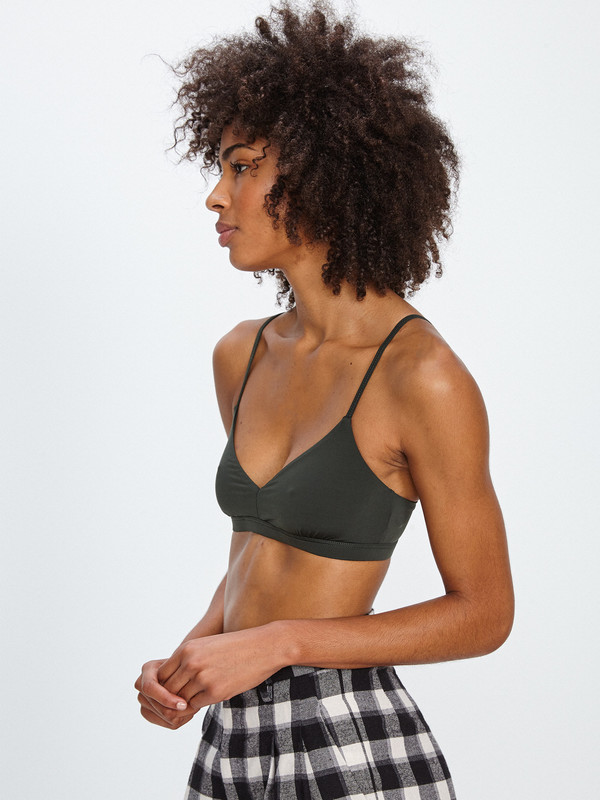 Land of Women CLASSIC SUPER SOFT BRA / FOREST