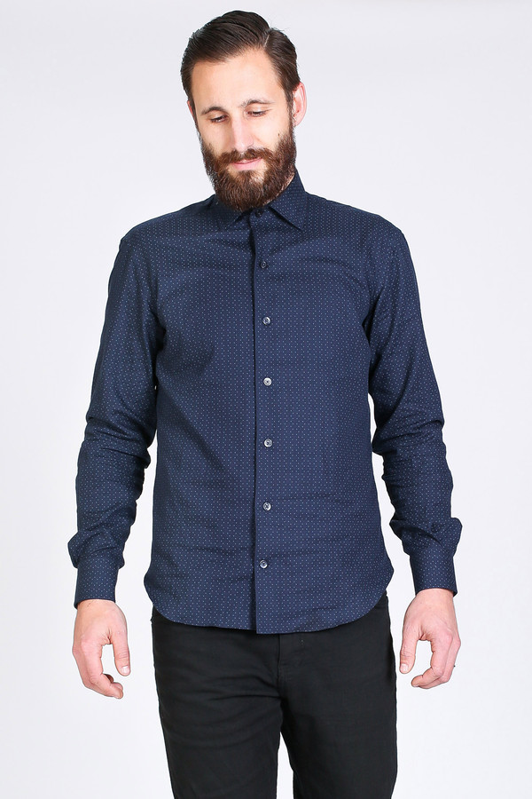 Men's Culturata Bardi Shirt in Navy