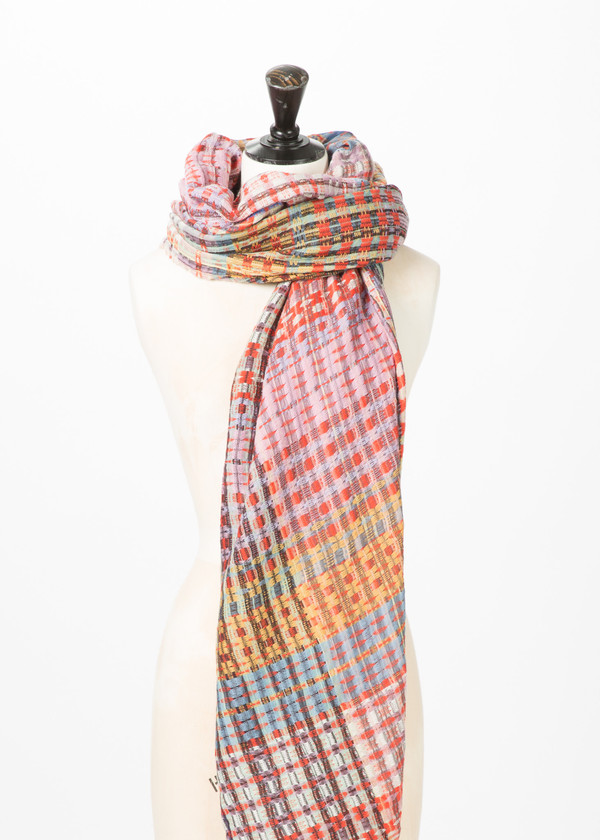 Epice Woven Wool Shawl