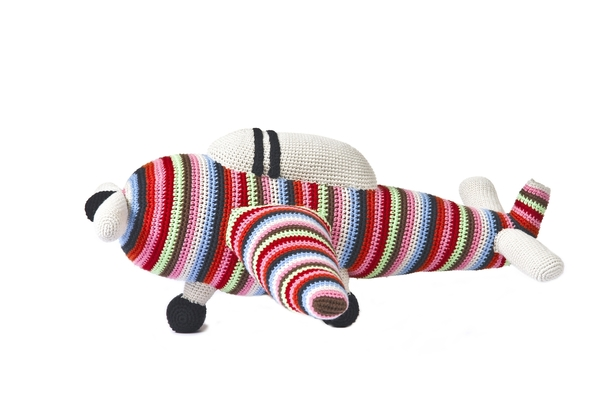 Anne-Claire Petit Toy Big Airplane - Dodo Les Bobos