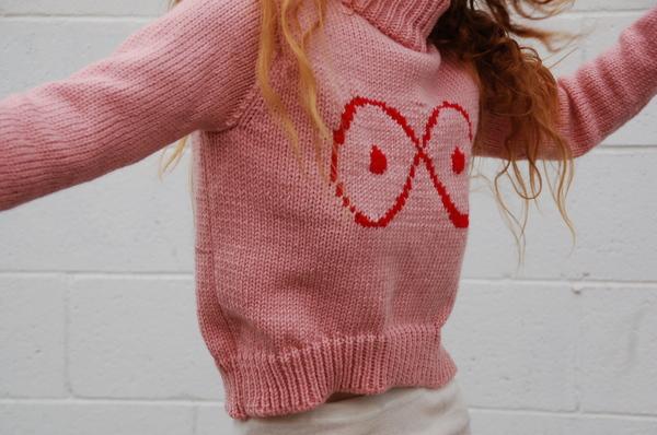 323 Infinite Boob Sweater