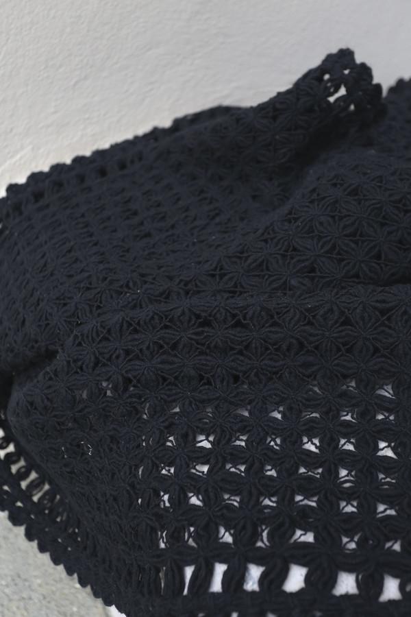 Mexchic Merengue Blanket in Black