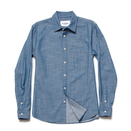 Men's Corridor Chambray Twill- Medium