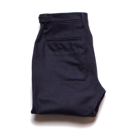 Corridor Wool Navy Trouser
