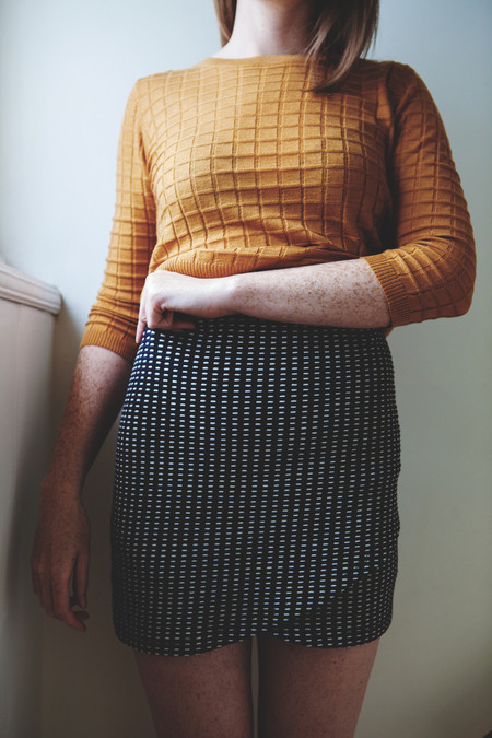 Eve Gravel Universe Skirt