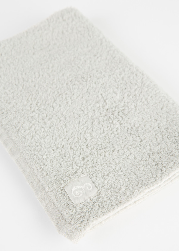 Evam Eva Light Grey Cotton Towels