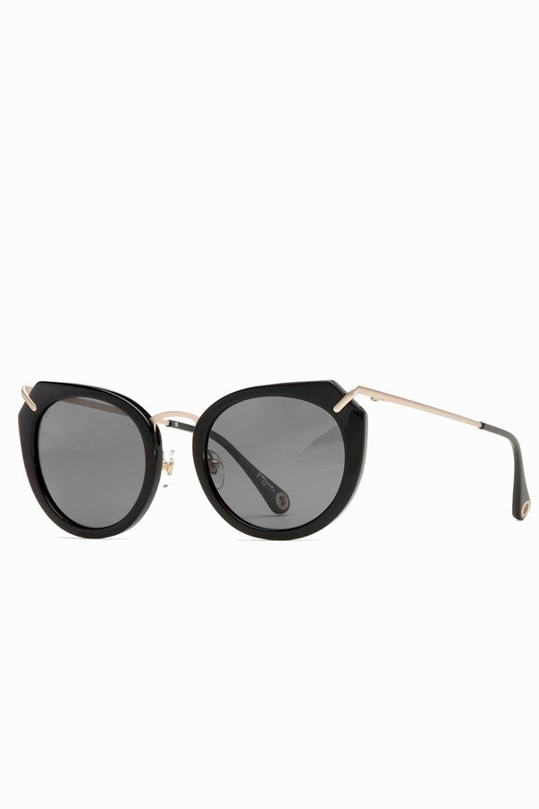 RAEN Pogue Sunglasses- Black/Japanese Gold