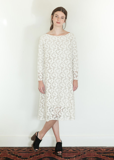 Megan Huntz Janet Dress in Lace