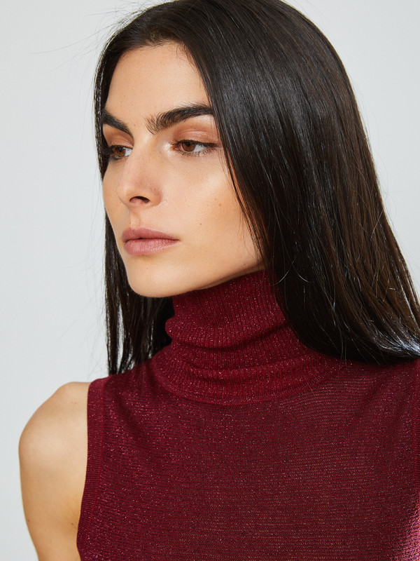 Nikki Chasin Brandy Sparkle Turtleneck