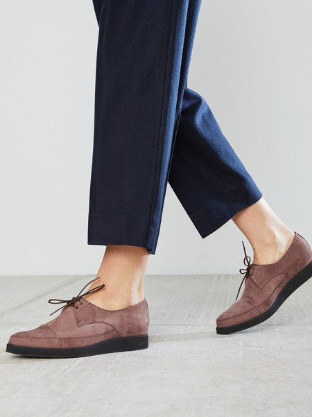 Anne Thomas Mauve London Shoe