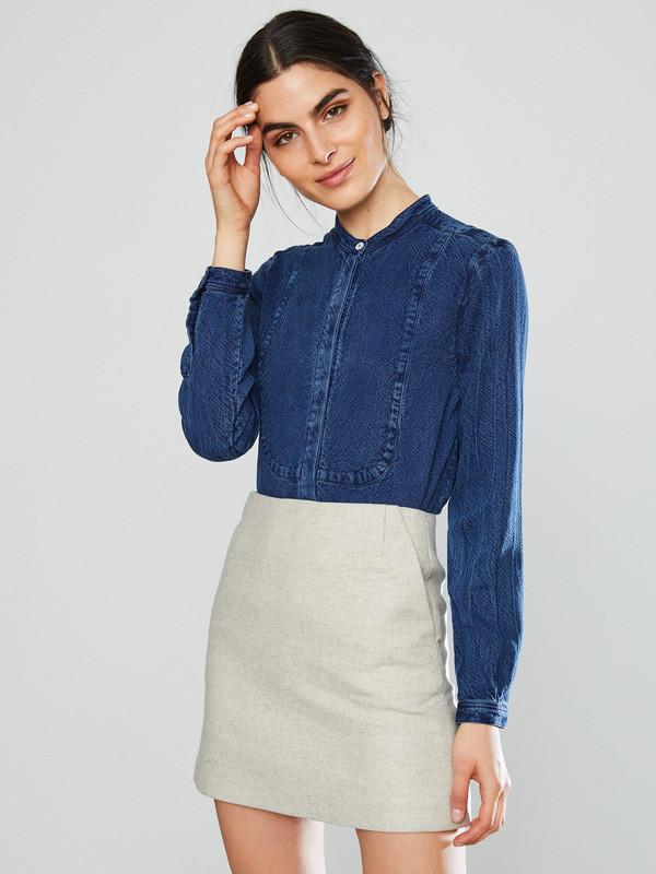 YMC Neoprene Wool Skirt