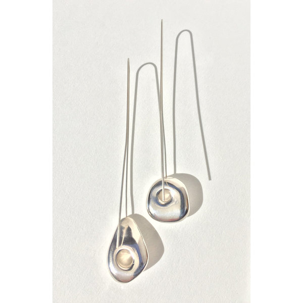 Leigh Miller Sterling Silver Hepworth Drop Earrings
