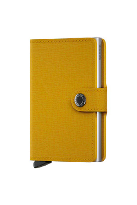 SECRID Mini Wallet - Crisple Amber