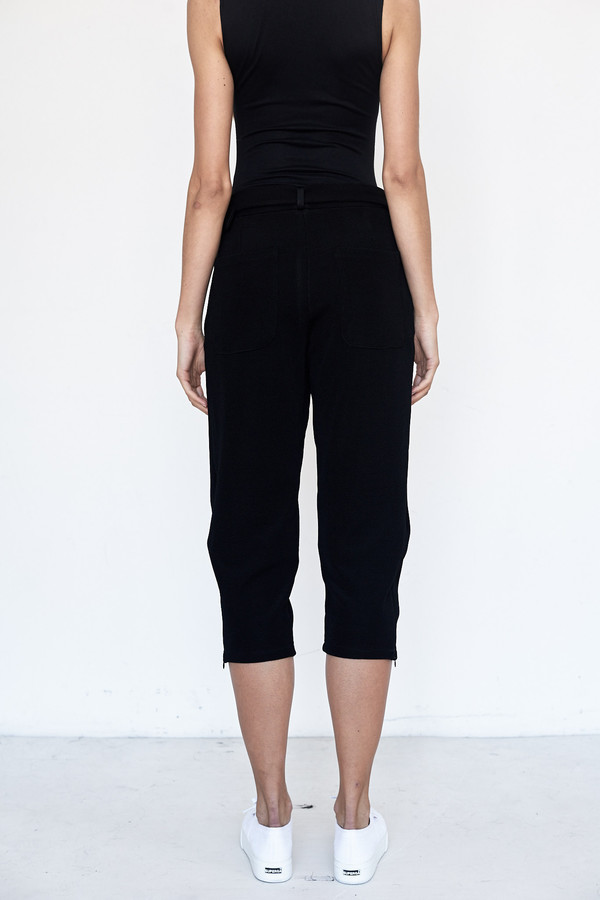 Index Series Waffle Knit Pleated Trouser