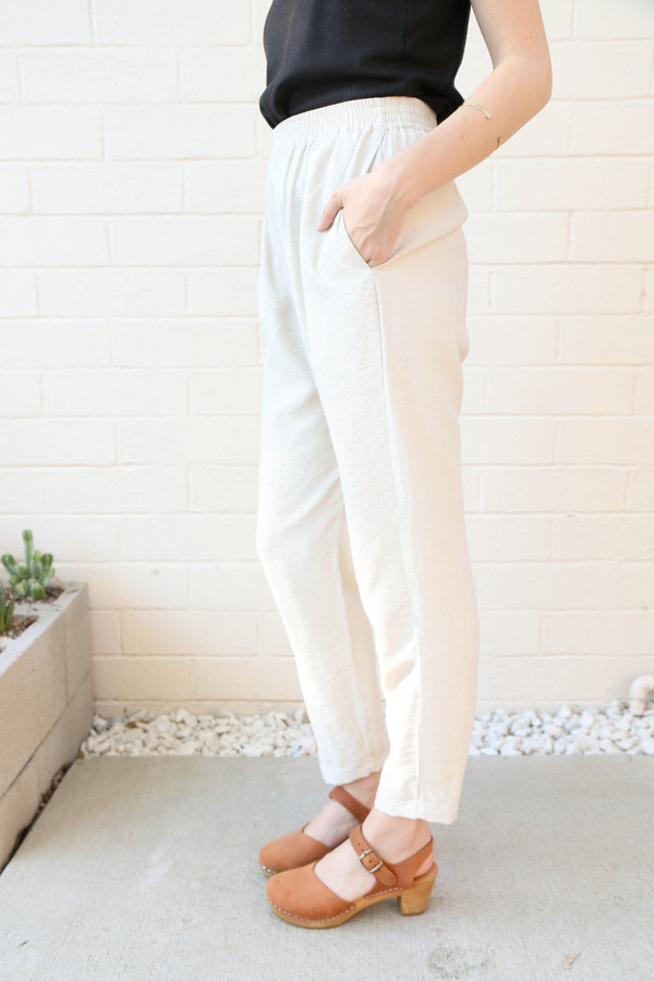 Bone High Waisted Trousers