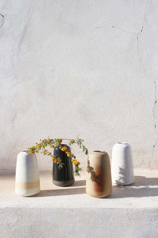 Pilar Vase in Buttercream
